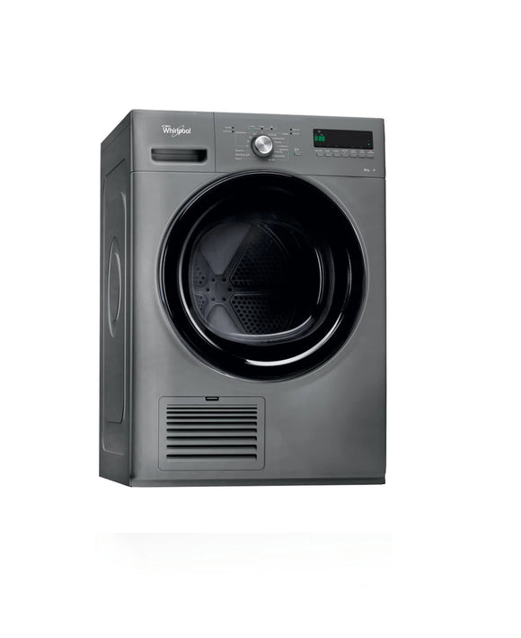 Whirlpool condenser tumble dryer: freestanding, 8kg - DDLX 80115