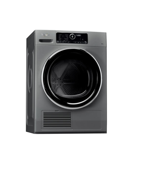 Whirlpool condenser tumble dryer: freestanding, 9kg - DSCX 90122