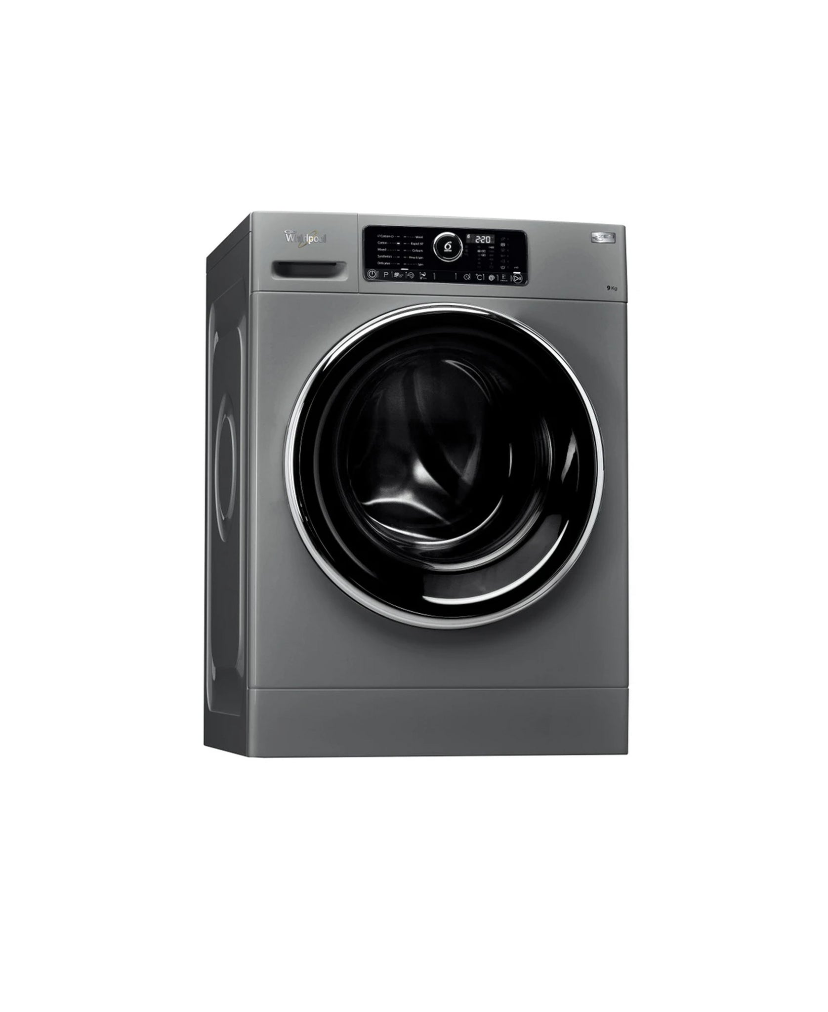 Whirlpool freestanding front loading washing machine: 9kg - FSCR 90426