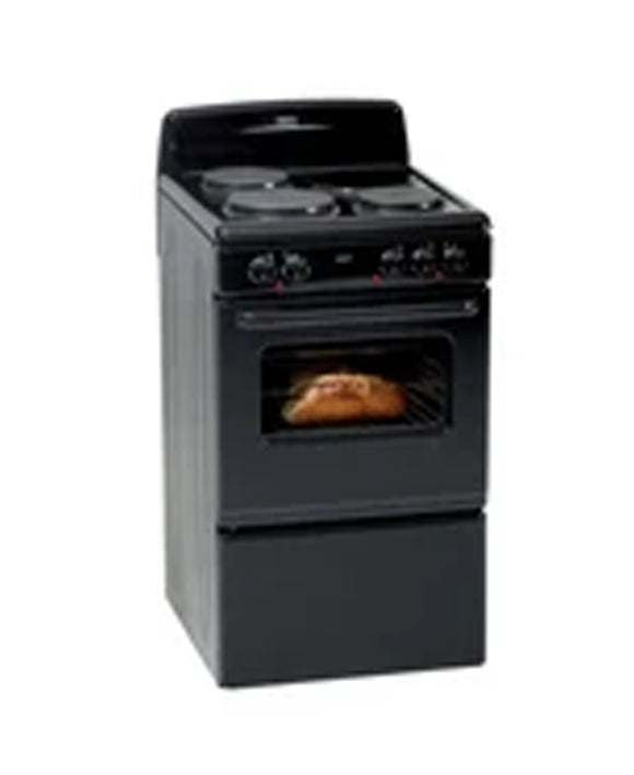 Defy 3 Plate Stove Compact Black DSS513 (On Promo)