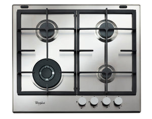 Whirlpool gas hob: 4 gas burners - GMA 6422/IX