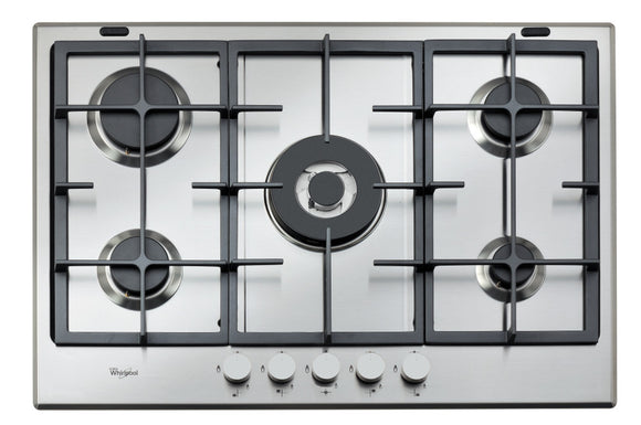 Whirlpool gas hob: 5 gas burners - GMA 7522/IX