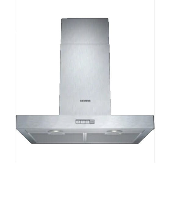 Siemens Wall-mounted Extractor Hood 60 cm Stainless steel LC64BA522