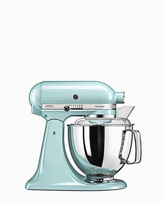 KitchenAid 4.8LT Stand Mixer + Free S/S Bowl - Ice Blue