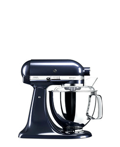 KitchenAid 4.8LT Stand Mixer + Free S/S Bowl - Blueberry
