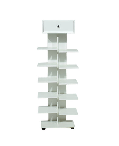 Layla Shoe Rack White