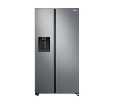 Samsung Side by Side RS64R5311M9, with All-around Cooling, 617 L, Gentle Silver