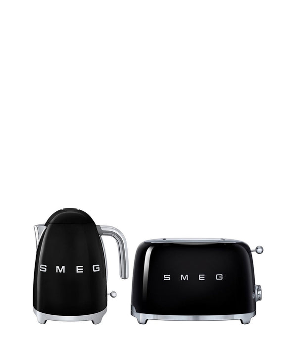 Smeg Kettle & Toaster Combo - Black