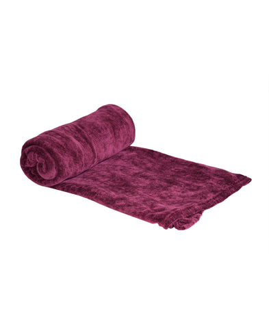 Maroon Throw 150 x 200 cm