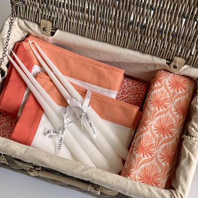 Hamper Gift Set - Coral