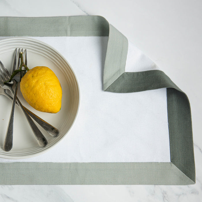The Modernist Placemats, Set of 4 - Grey
