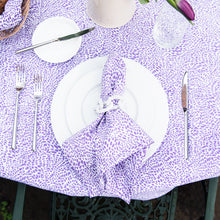Load image into Gallery viewer, The Wild Child Tablecloth - Purple