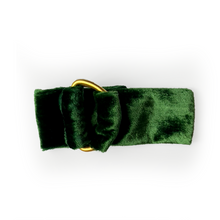 Load image into Gallery viewer, Velvet Napkin Ring - Green