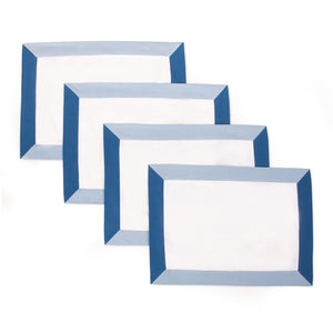 The Modernist Placemats, Set of 4 - Blue
