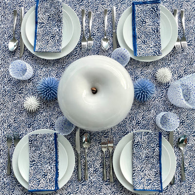The Wild Child Tablecloth - Blue