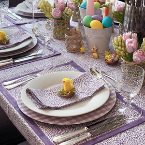 The Wild Child Tablecloth - Purple