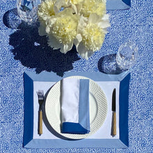 Load image into Gallery viewer, The Modernist Placemats, Set of 4 - Blue