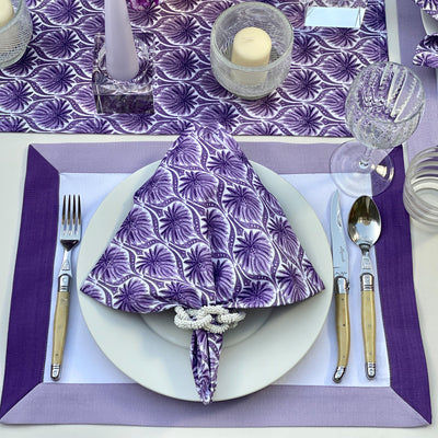 The Modernist Placemats, Set of 4 - Purple