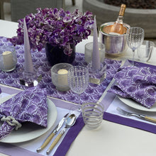 Load image into Gallery viewer, The Romantic Table Runner - Purple