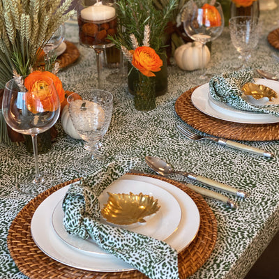 The Wild Child Tablecloth - Green