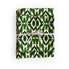 Load image into Gallery viewer, Ikat Tablecloth - Green