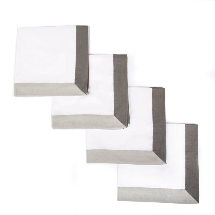 The Modernist Napkins, Set of 4 - Grey