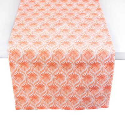 The Romantic Table Runner - Coral