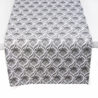 The Romantic Table Runner - Grey