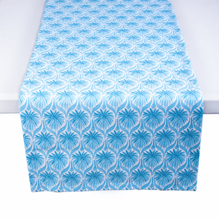 The Romantic Table Runner - Turquoise