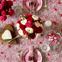 Load image into Gallery viewer, The Wild Child Tablecloth - Berry