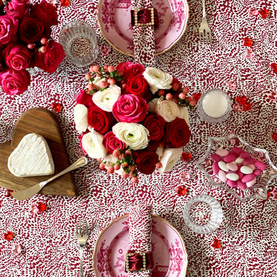 The Wild Child Tablecloth - Berry