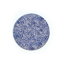 Load image into Gallery viewer, Wild Child Round Wipeable Placemat - Blue