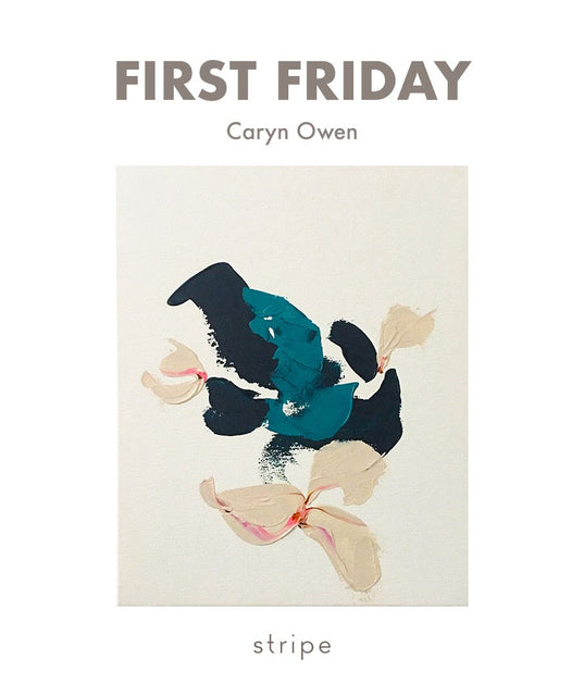 Caryn Owen at Stripe for First Friday Santa Cruz