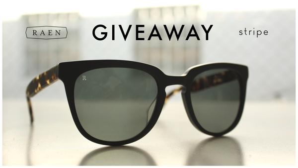 raen vista sunglasses giveaway
