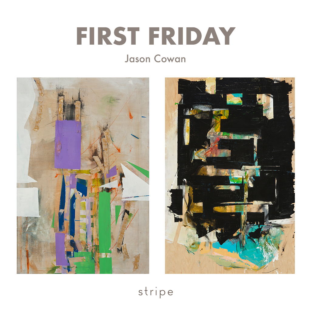 Jason Cowan First Friday Santa Cruz at Stripe