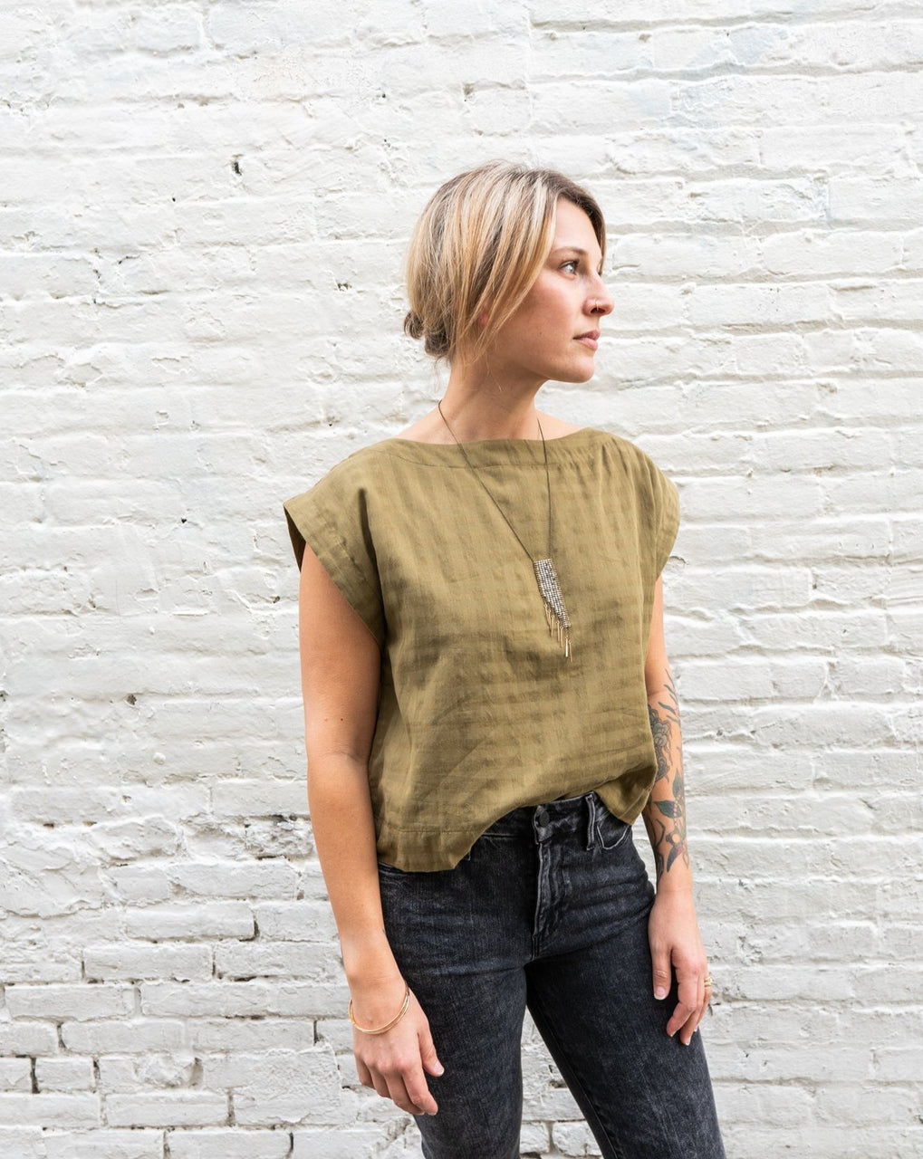 Everyday Top - Olive