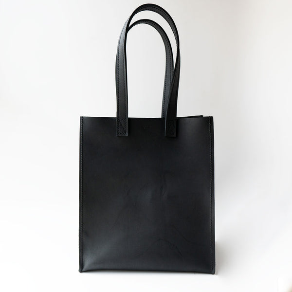 Ray Market Bag Black Long Handle