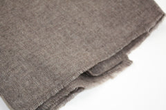 Bark Brown Cashmere Scarf