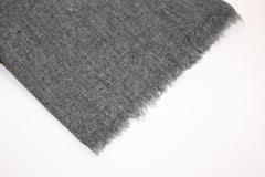 Charcoal Grey Cashmere Scarf