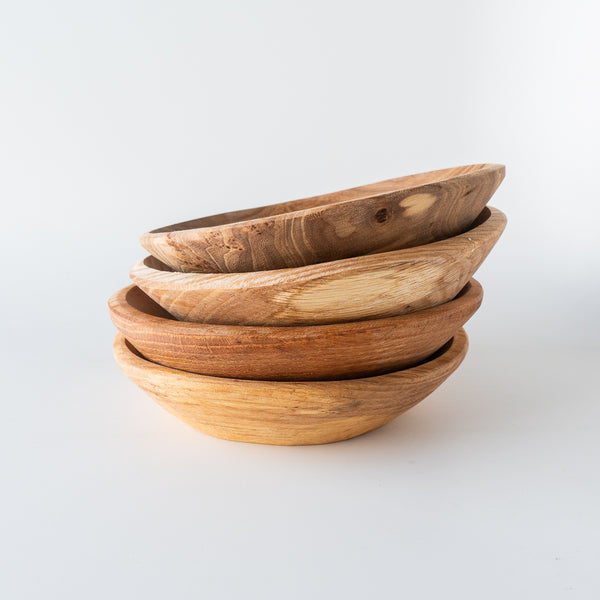 Handcarved Wooden Bowl - Oak