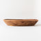Hand Carved Wooden Dough Bowl - Elm