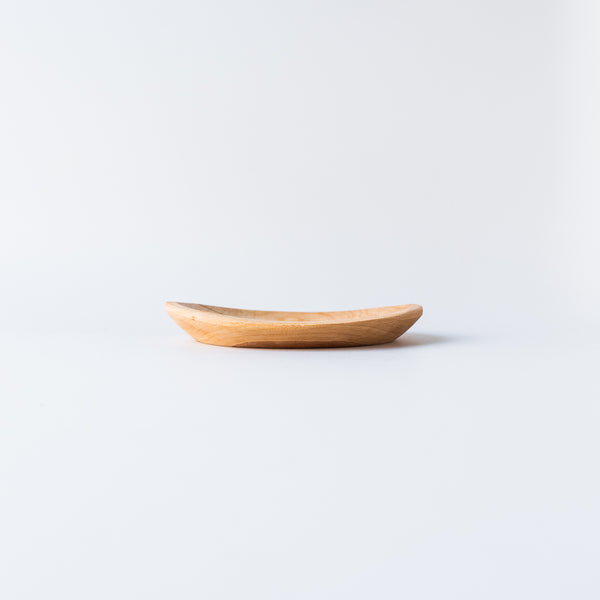 Handcarved Thin Wooden Plate