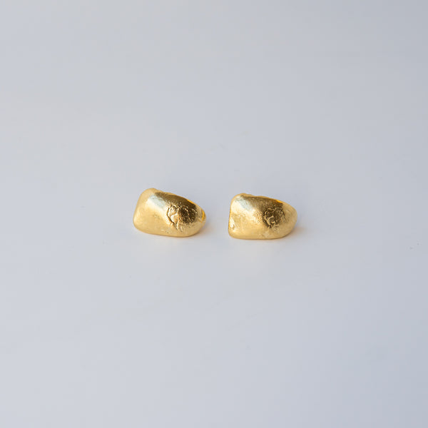 Curved Shell Earrings