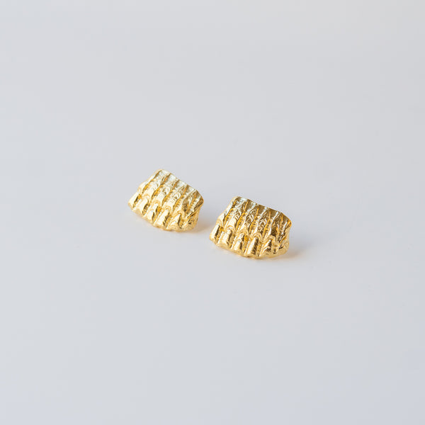 Ridged Shell Earrings