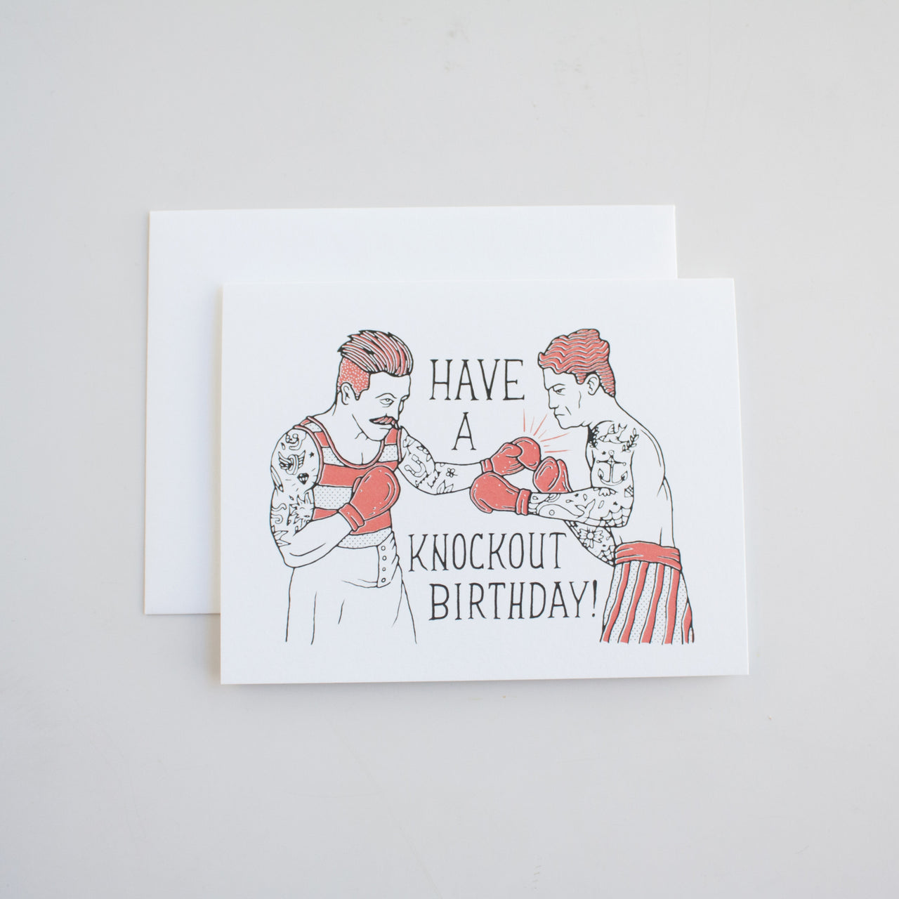 Knockout Birthday Card