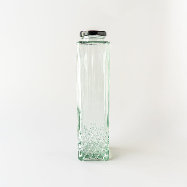 Rectangular Glass Bottle
