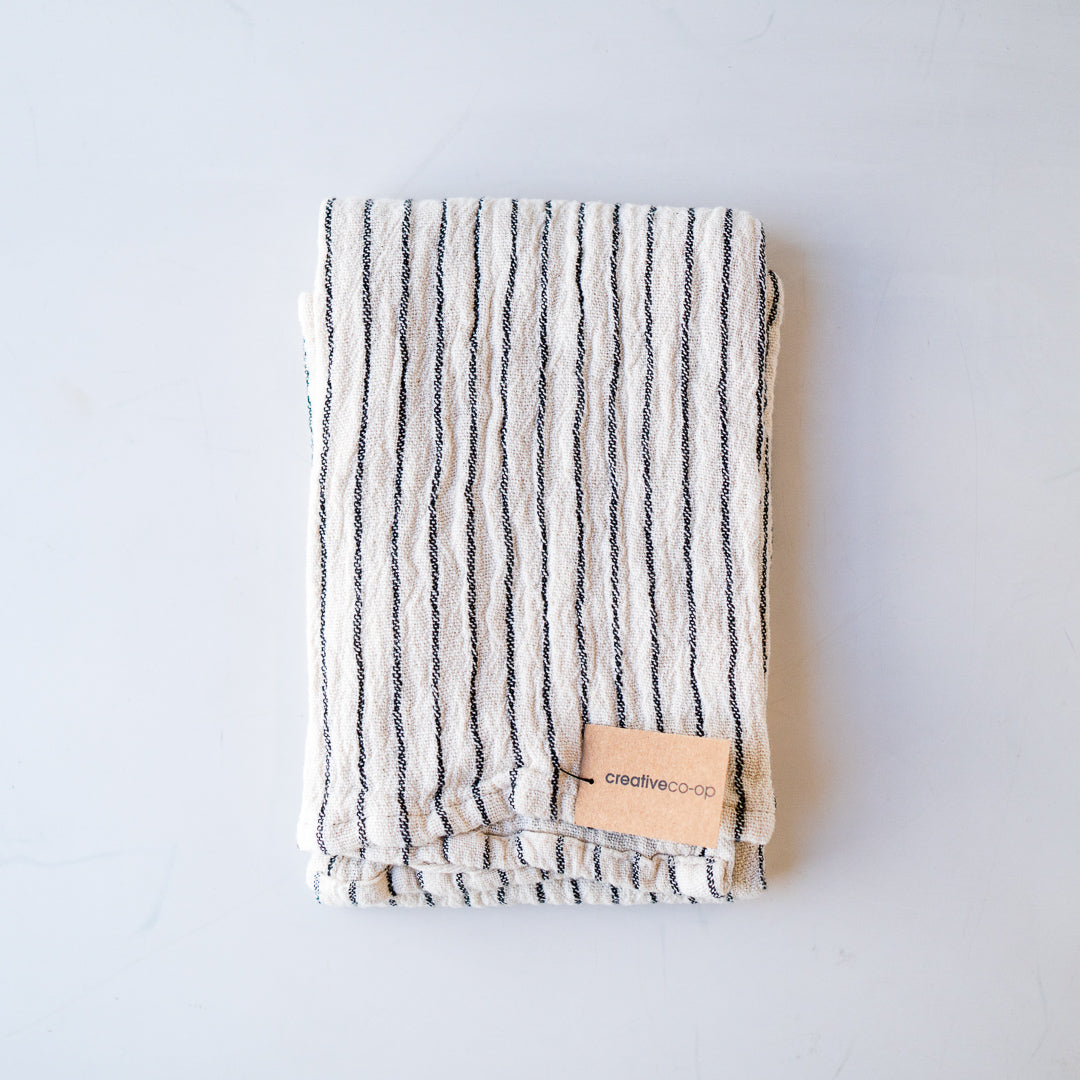 Cotton Tea Towel Stripe