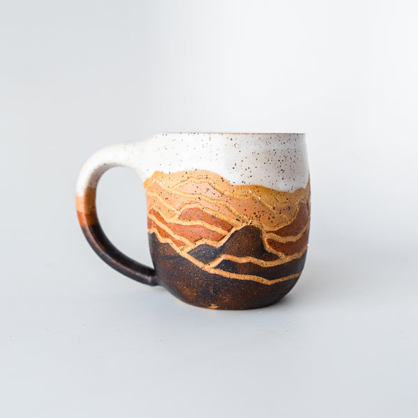 Coco Mountain Mug Plum