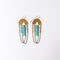 Turquoise Drape Earrings