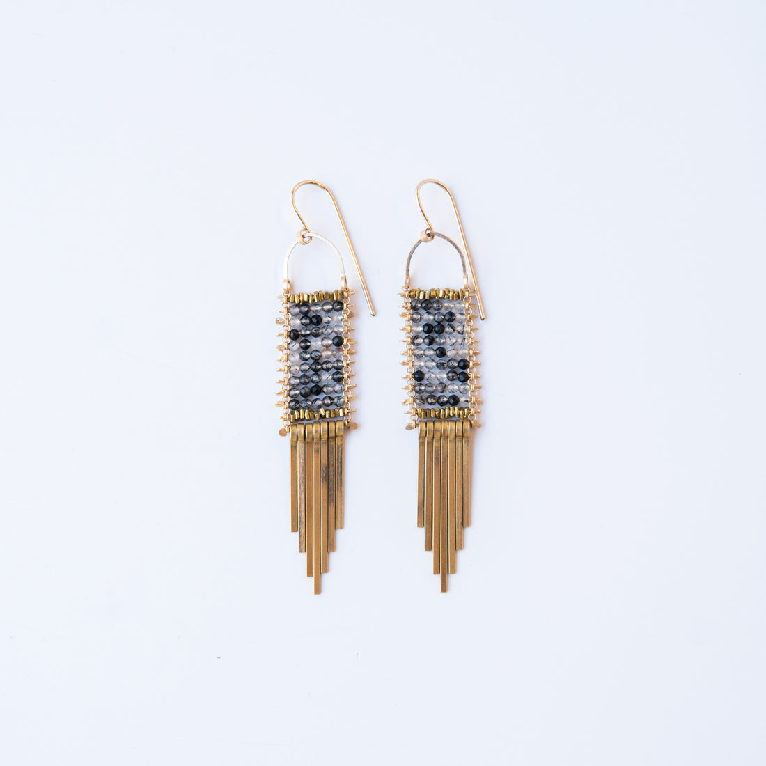 Rutile Quartz Tapestry Earrings